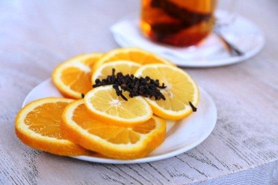 Arancia e chiodi Garofano