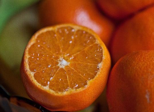 Arancia tagliata