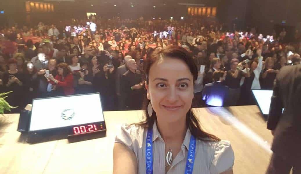 Premiazione qualifica Francesca Maglione