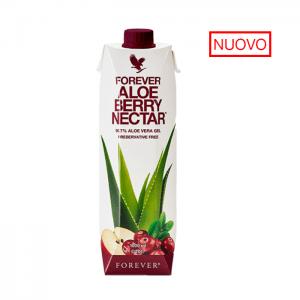 Confezione da 1 litro di aloe vera al mirtillo e mela della Forever Living