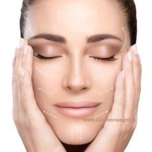 Benessere e bellezza della pelle del viso