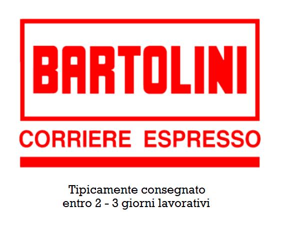 Consegna prodotti con corriere Bartolini