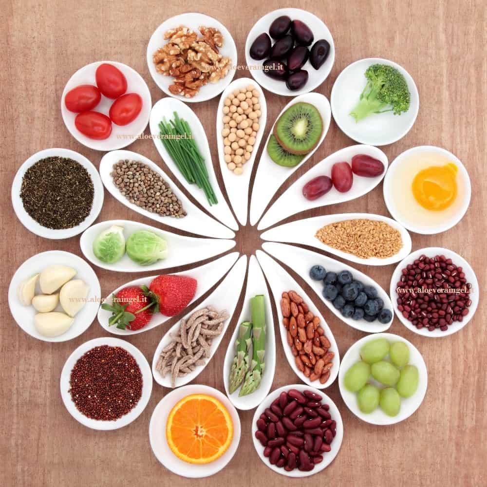 Esempi di alimentazione sana e super food